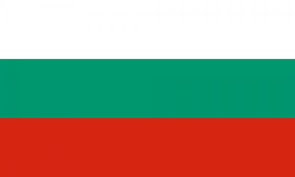 Bulgaarse vlag Bulgarije 20x30cm gastenlandvlag