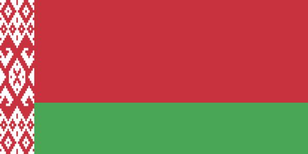Wit-Russische vlag | vlag van Belarus 30x45cm gastenvlag