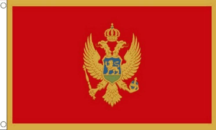 Montenegro vlag Montenegrijnse vlaggen 90x150 cm Best Value