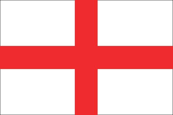 Engelse vlag vlaggen Engeland gastenlandvlag 30x45cm