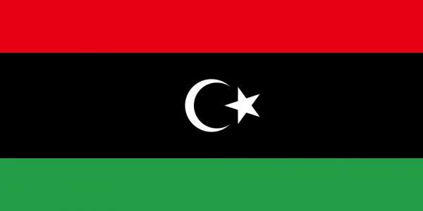 Tafelvlaggen Libië 10x15cm | Libische tafelvlag