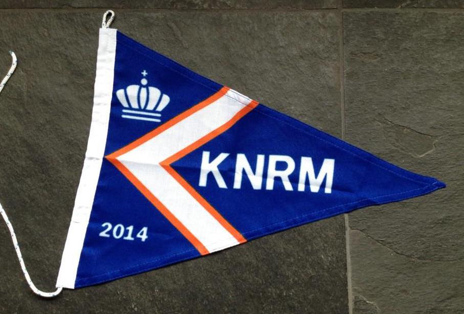 Kleine KNRM vlag 20x30cm editie 2014 online kopen bij vlaggenclub