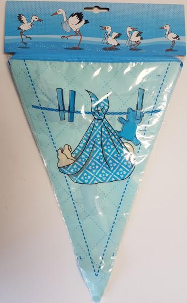 Hoera! Een Jongen geboren vlaggenlijn - 6 meter