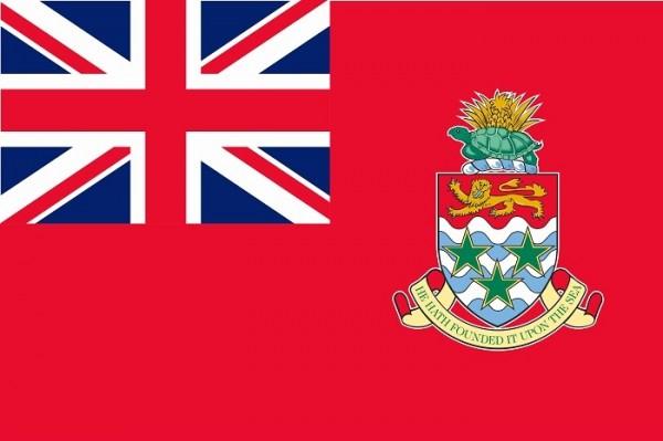 vlag Cayman Kaaimaneilanden 30x45cm gastenvlag