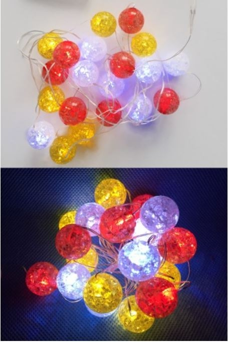 ledsnoer lichtdecoratie 20 lampjes