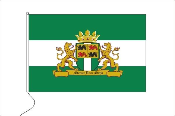 Vlag Rotterdam Sterker door Strijd 30x45cm