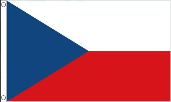 Tsjechische vlag | Vlaggen Tsjechie 60x90cm Best Value