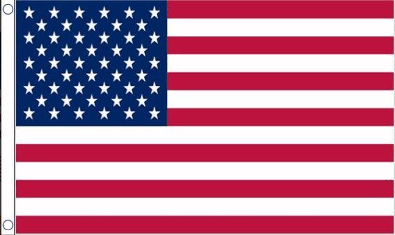 Amerikaanse vlag 60x90cm budget verenigde staten van amerika