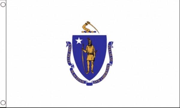 Vlag Massachusetts