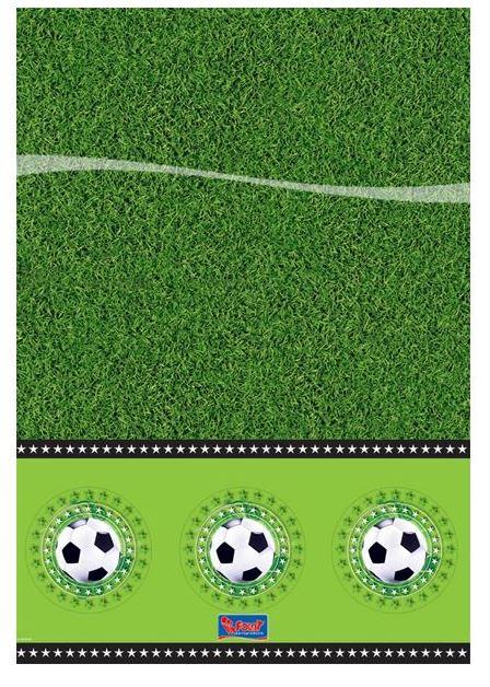 Tafelkleed Voetbal 130x180cm WK | EK voetbalfeestje