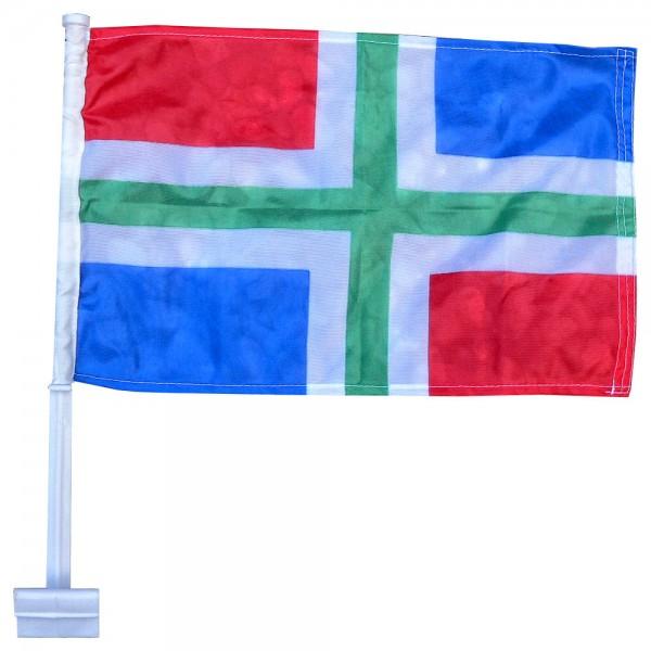 Autovlag Groningen luxe Groningse auto vlag
