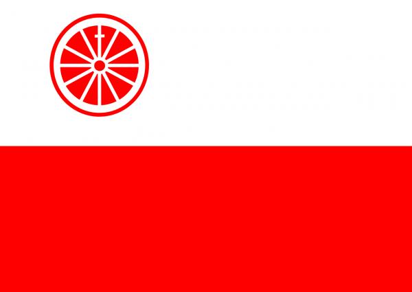 Grote vlag Wageningen