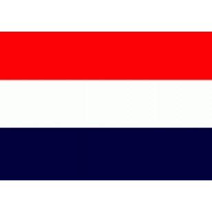 Oud Hollandse vlag / Sloepenvlag 80x120cm
