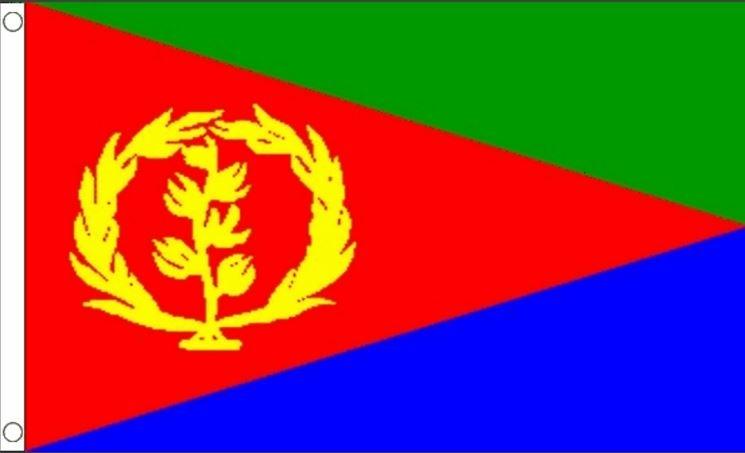Vlag Eritrea Eritrese vlaggen 90x150cm