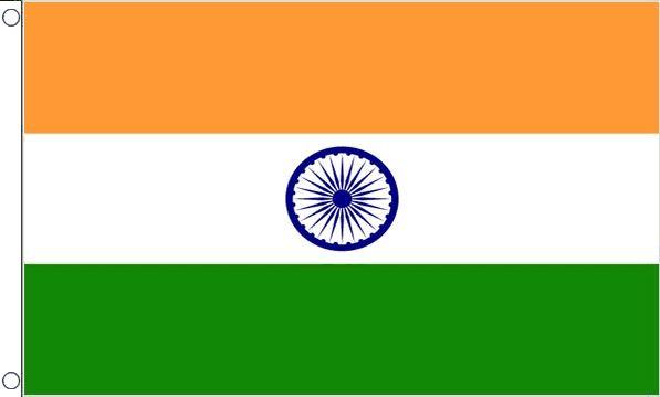 vlag India 60x90cm Best Value voordelige Indiase vlaggen kopen