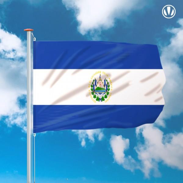 Mastvlag El Salvador