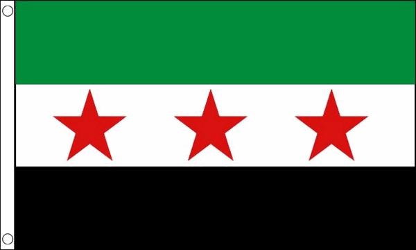 Syrische vlag van de revolutie