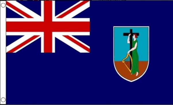 Montserrat vlag I Vlaggen Montserrat 90x150cm Best Value