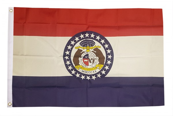 Vlag Missouri 90x150cm