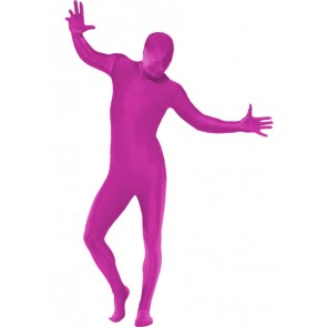Skinsuit roze maat L/XL Morphsuite
