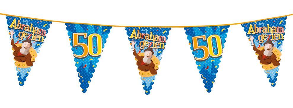 Vlaggenlijn 50 Abraham gezien 6m