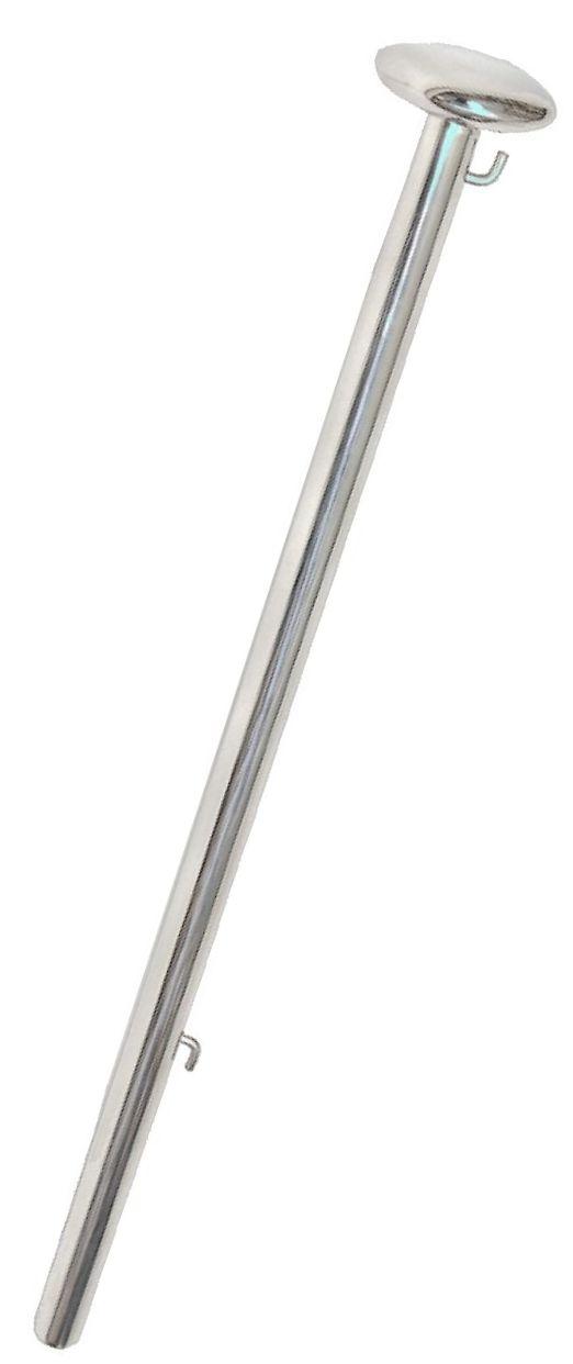 RVS Vlaggenstok 100cm