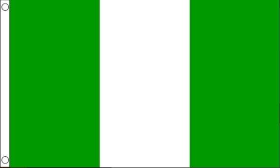 vlag Nigeria, Nigeriaanse vlaggen 60x90cm Best Value