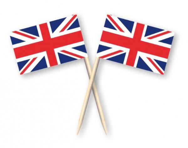 Kaasprikkers Groot-Brittannië, Britse cocktailprikkers 50 stuks