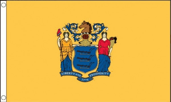 Vlag New Jersey