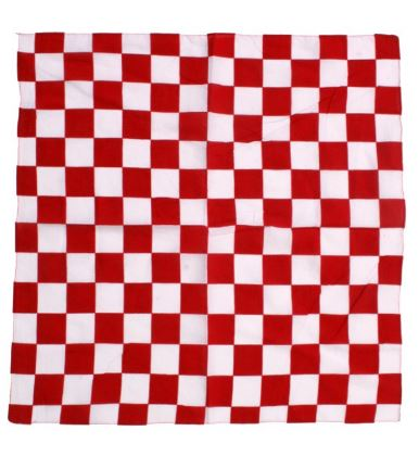 Bandana Brabants Bont stof 56x56cm