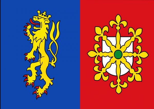 Grote vlag Mook en Middelaar