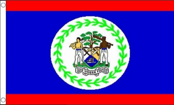 Vlag Belize 60x90cm