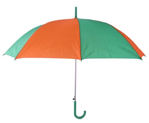paraplu open groen oranje 59 cm