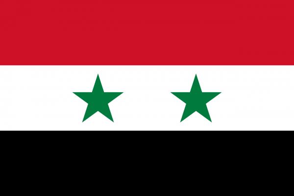 Vlag Syrie 100x150cm Glanspoly