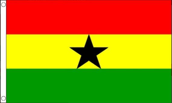 vlag Ghana, Ghanese vlaggen 60x90cm Best Value