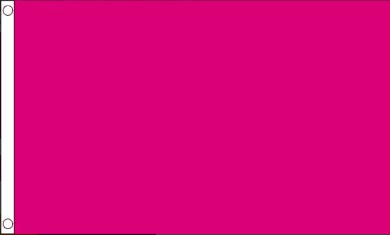 Vlag fuchsia, cerise, rozepaars, roze  90x150cm Best Value