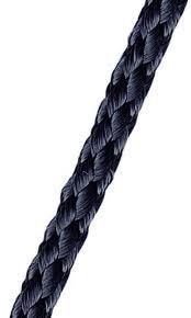 Vlaggenlijn Zwart touw 6mm kopen per m