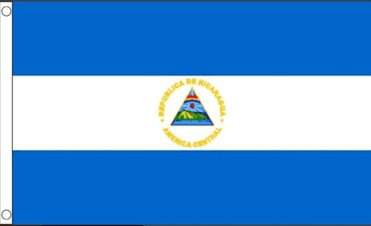 vlag Nicaragua | Nicaraguaanse vlaggen 90x150cm Best Value