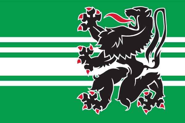 Tafelvlag Oost Vlaanderen 10x15cm