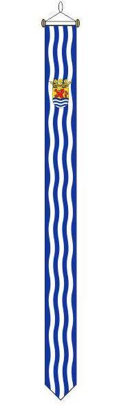 Wimpel Zeeland traditioneel 25x300cm met stokje