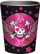 Bekers Pirate Girl 8 stuks