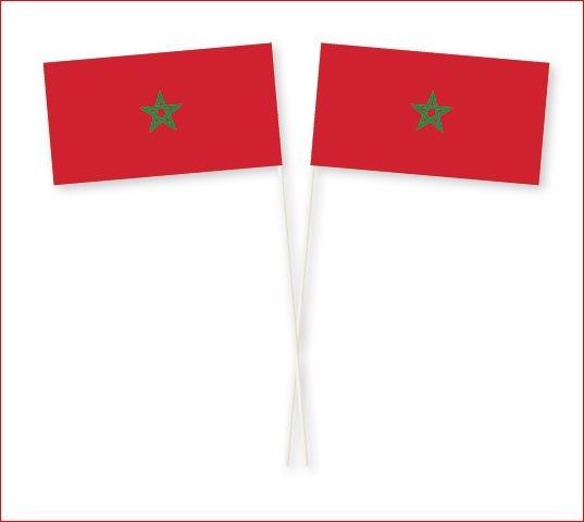 Zwaaivlag Marokko Marokkaanse zwaaivlaggetjes kopen