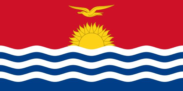 vlag Kiribati Kiribatische vlaggen 100x150cm