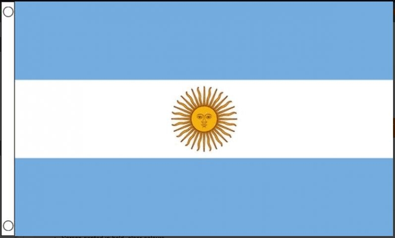 Vlag Argentinië   Argentijnse vlaggen 150x240cm Best Value