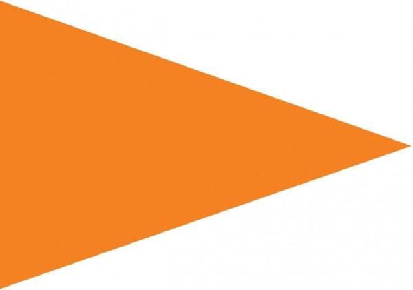 Puntvlag oranje 70x100cm