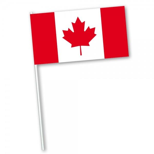 Zwaaivlag Canada 30x45 met stoklengte van 60cm
