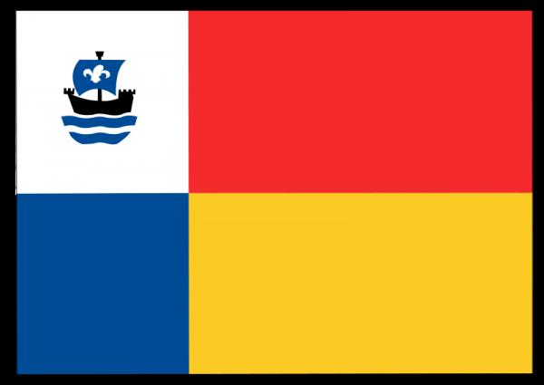 Vlag gemeente Almere | Almeerse vlaggen 30x45cm