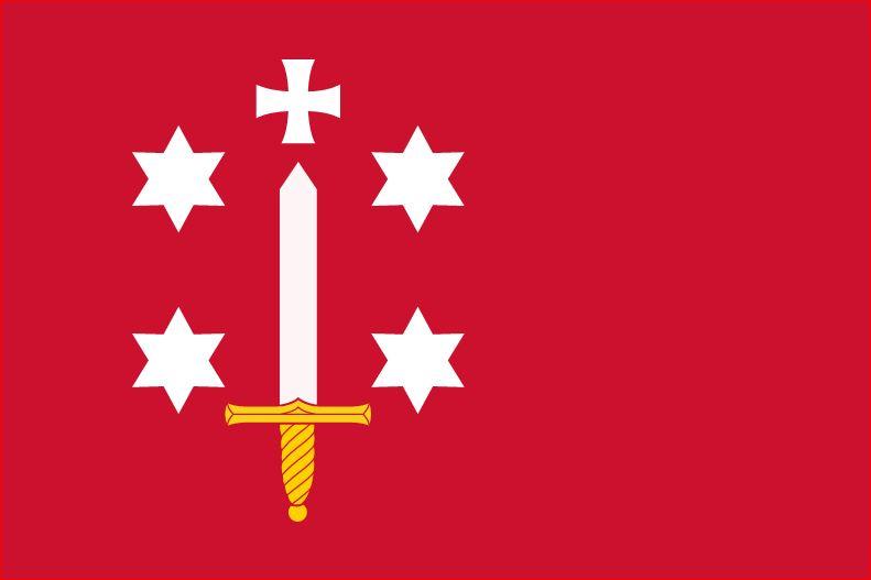 Vlag Haarlem 150x225cm