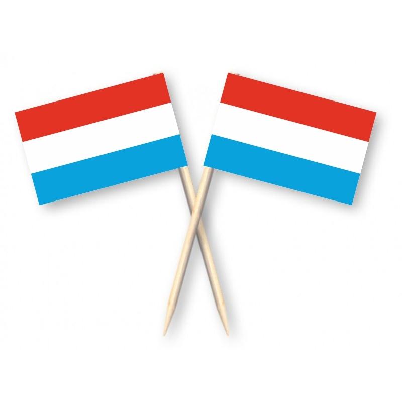 Kaasprikkers Luxemburg - Luxemburgse Cocktailprikkers 50 stuks