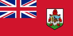 Tafelvlaggen Bermuda 10x15cm | Bermudaanse tafelvlag